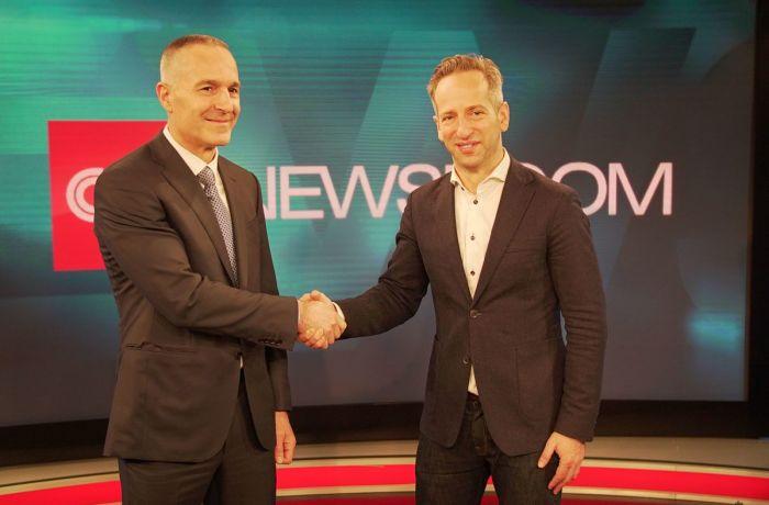 CNN запускает новый телеканал для Албании