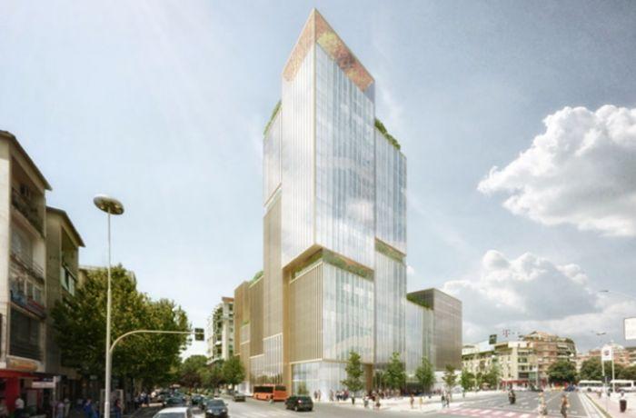 Многофункциональный комплекс Meliá Tirana будет построен в столице Албании
