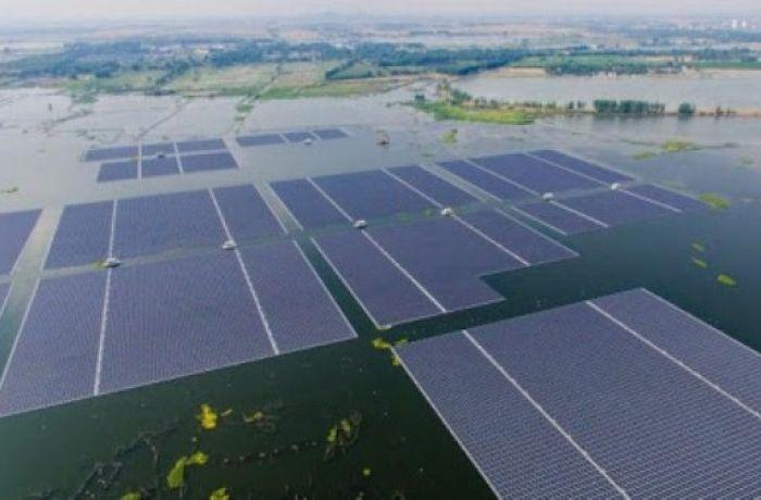 Строительство плавучей солнечной фермы в Албании начинается в апреле