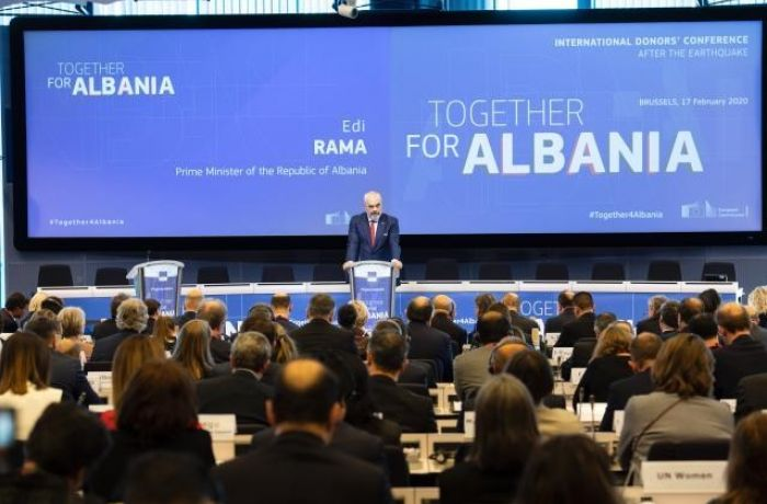 Мировое сообщество передаст €1,15 млрд. Албании на восстановление после землетрясения