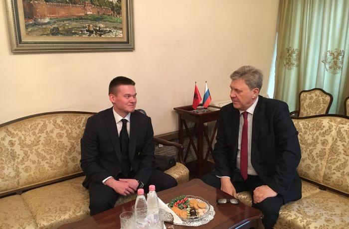 Посол России в Албании встретился с проректором Московского исламского института