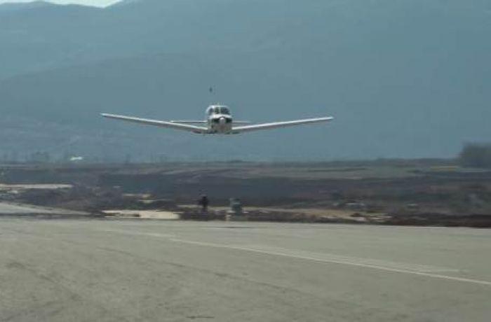В аэропорту Кукеса прошли первые испытания взлетно-посадочной полосы