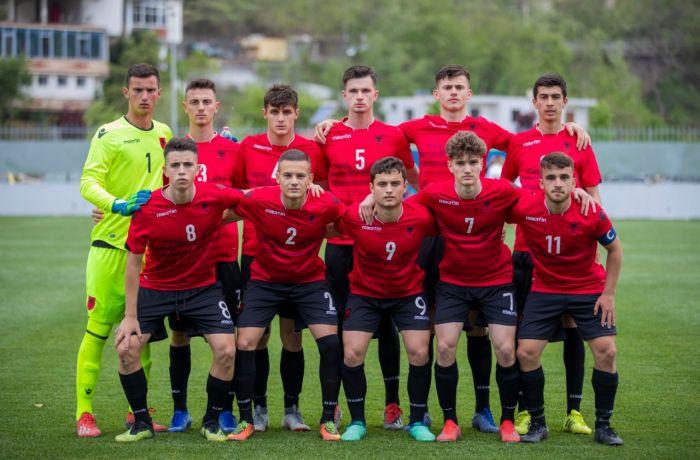 Молодежная сборная Албании по футболу сыграла вничью с командой Македонии