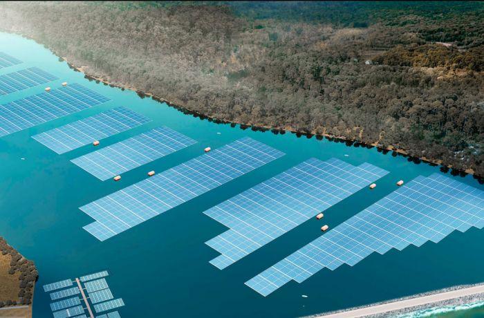 Строительство плавучей солнечной электростанции в Албании профинансирует ЕБРР