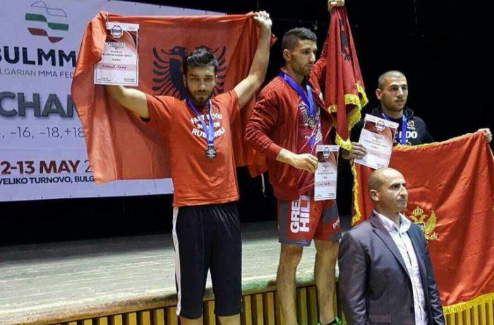 В Албании появился еще один чемпион мира по боевым искусствам