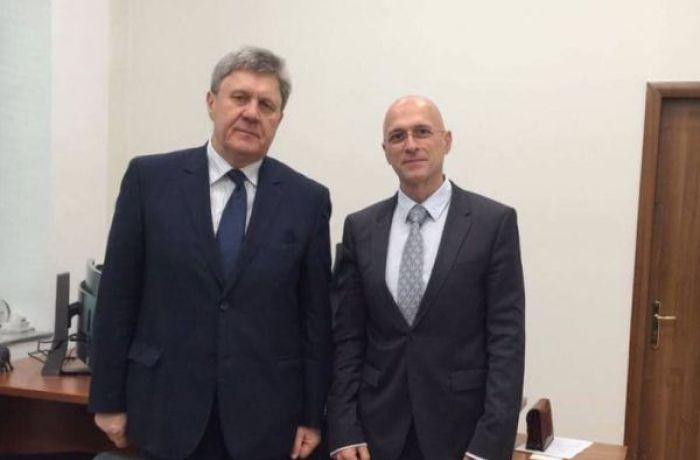 Посол России в Тиране встретился с заместителем министра финансов Албании