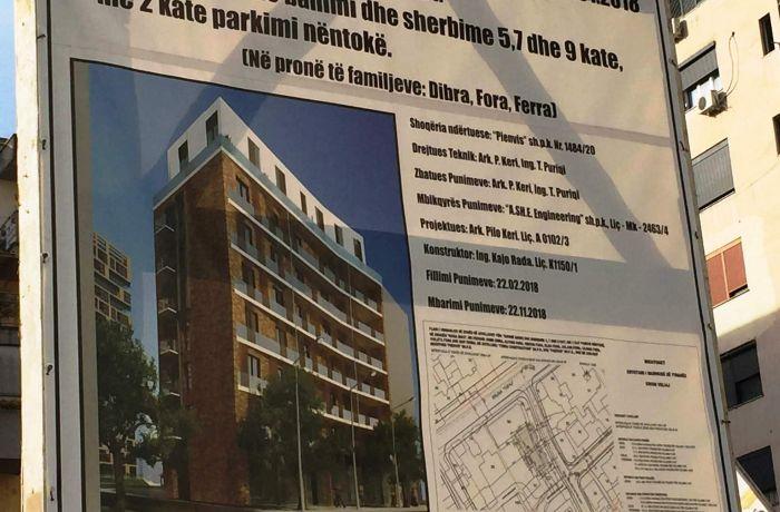 PIENVIS sh.pk строит новый жилой комплекс в Тиране