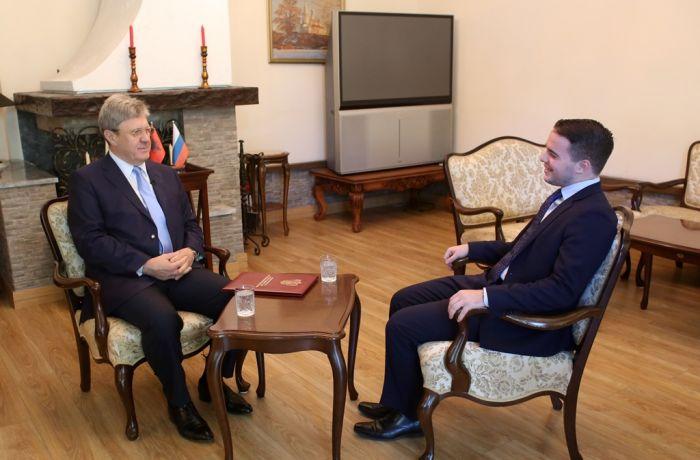 Посол России в Тиране дал интервью албанскому телеканалу ABC News