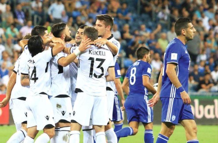 Израиль потерпел сокрушительное поражение в футбольном матче со сборной Албании