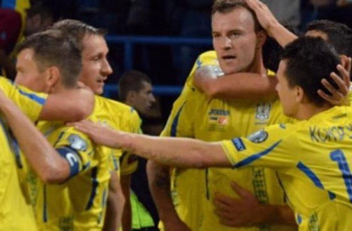 Сборная Албании уступила команде Украины в товарищеском матче