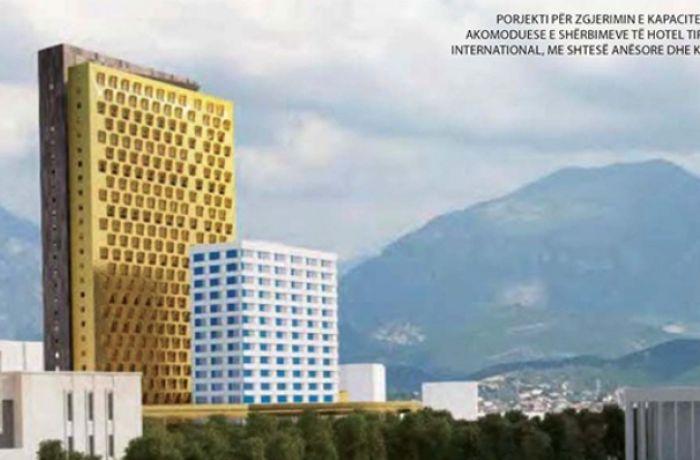 В албанской столице будет построена 30-этажная гостиница Hotel Tiranës