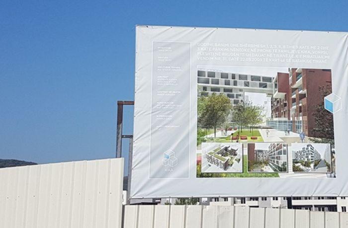 Девелопер Kika Sh.p.k построит новый жилой комплекс в столице Албании