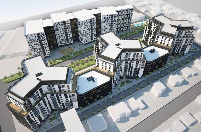 Turdiu Garden Residence – новый жилой комплекс в Тиране