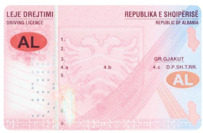 Получить водительские права за полчаса можно будет в Албании