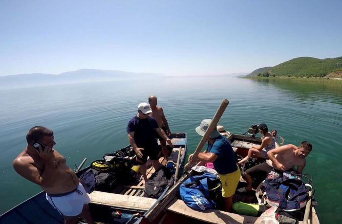 Новые археологические открытия в водах Охридского озера