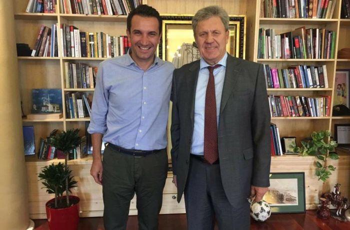Посол России в Албании встретился с мэром Тираны