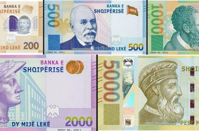 Центробанк Албании вводит новые банкноты: вот как они выглядят