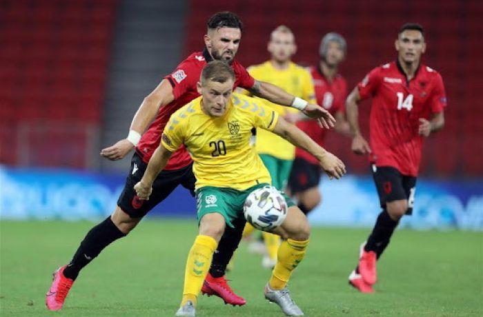 Сборная Албании уступила команде Литвы в матче Лиги наций УЕФА 2020