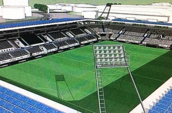 В городе Кукеси появится новый стадион стоимостью 3,5 миллиона евро
