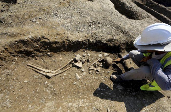 Древнее кладбище найдено в Албании