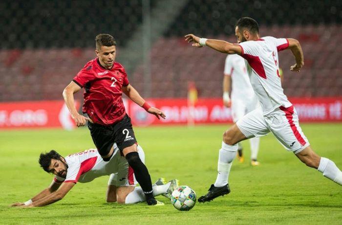 Сборная Албании завершила безрезультатной ничьей матч с Иорданией