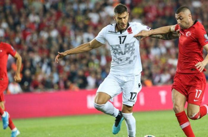 Евро-2020: сборная Албании по футболу проиграла команде Турции со счетом 0:1