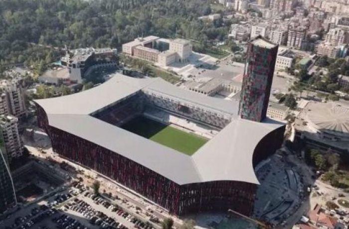 Как выглядит лучший стадион Албании - Arena Kombetare