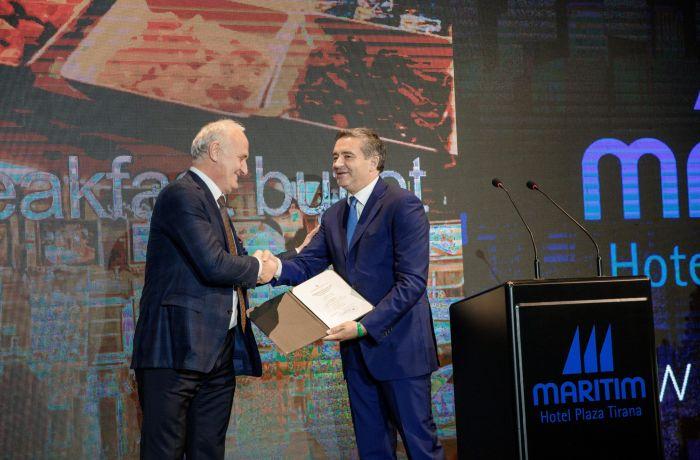 В Албании открылся первый сертифицированный 5-звездочный отель: Maritim Hotel Plaza Tirana
