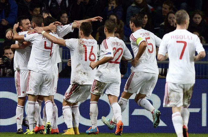 Сборная Албании по футболу проведет официальный матч с командой Молдовы