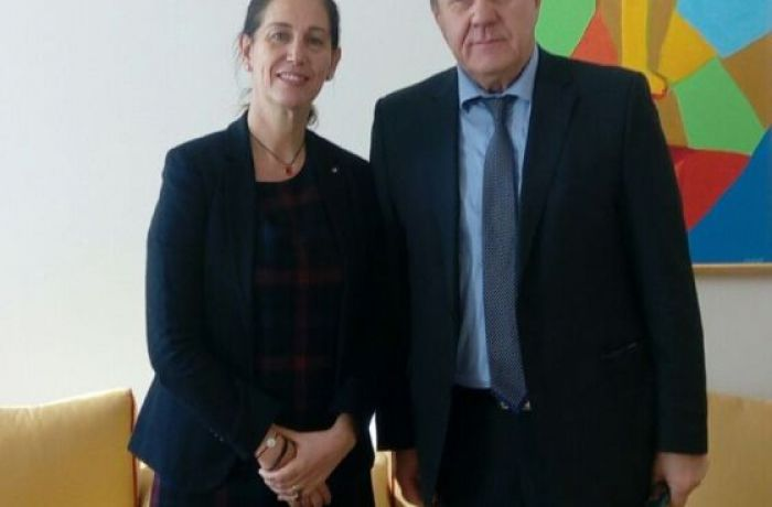 Посол России в Тиране встретился с Министром культуры Албании