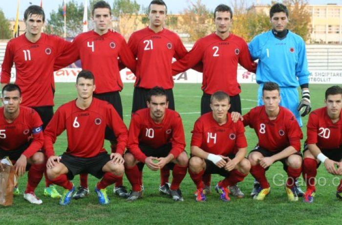 Молодежная сборная Албании по футболу сыграла вничью с командой Северной Ирландии