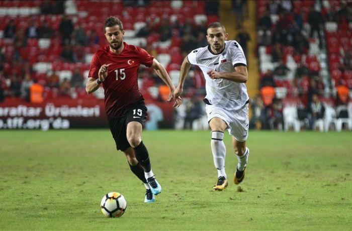 Футбольная сборная Албании победила команду Турции со счетом 3-2 в товарищеском матче