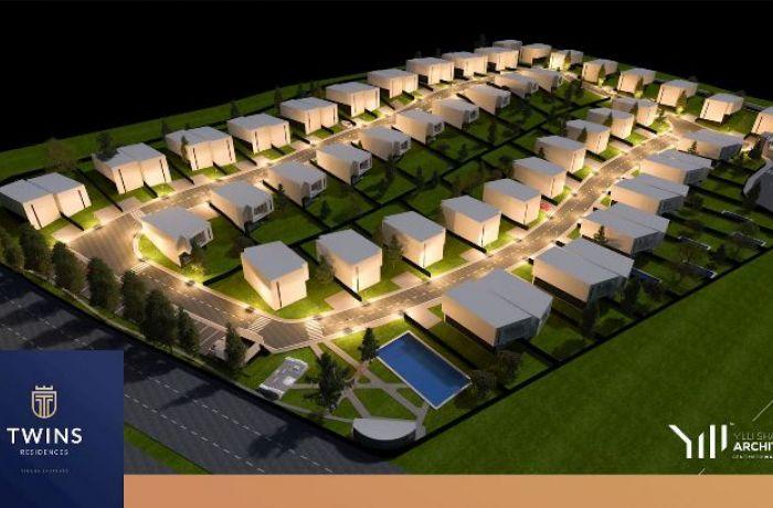 Twins Residences Tirana – коттеджный поселок в пригороде албанской столицы