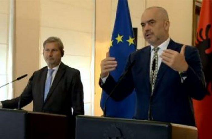 Йоханнес Хан: Албания на верном пути, евроинтеграция должна стать национальной целью
