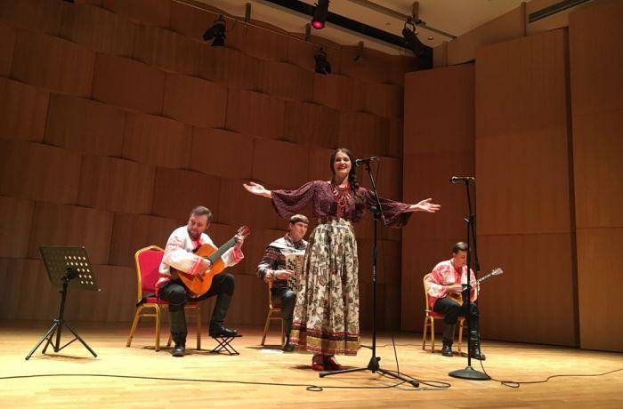 Российский ансамбль Вертоград выступил в столице Албании