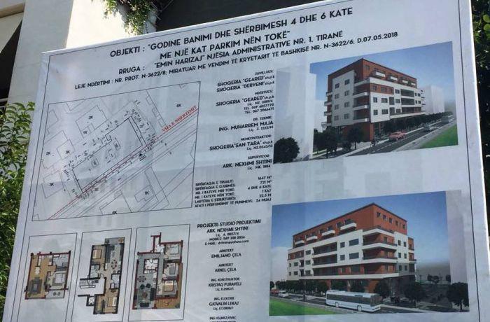 Столичная недвижимость в Албании от GEARED shpk рядом с парком и рекой
