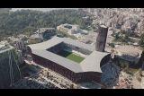 Как выглядит лучший стадион Албании - Arena Kombetare (видео)